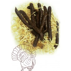 Домашние сыровяленные колбаски из индейки (весовые)