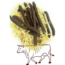 Домашние сыровяленные колбаски из говядины (весовые)