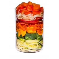 Садовый сбор. Щадяще тушеные фрукты и овощи. 400 гр